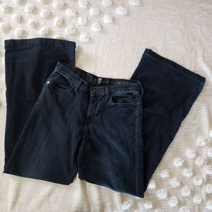 7 for all Mankind The Trouser Dark Wash Jea